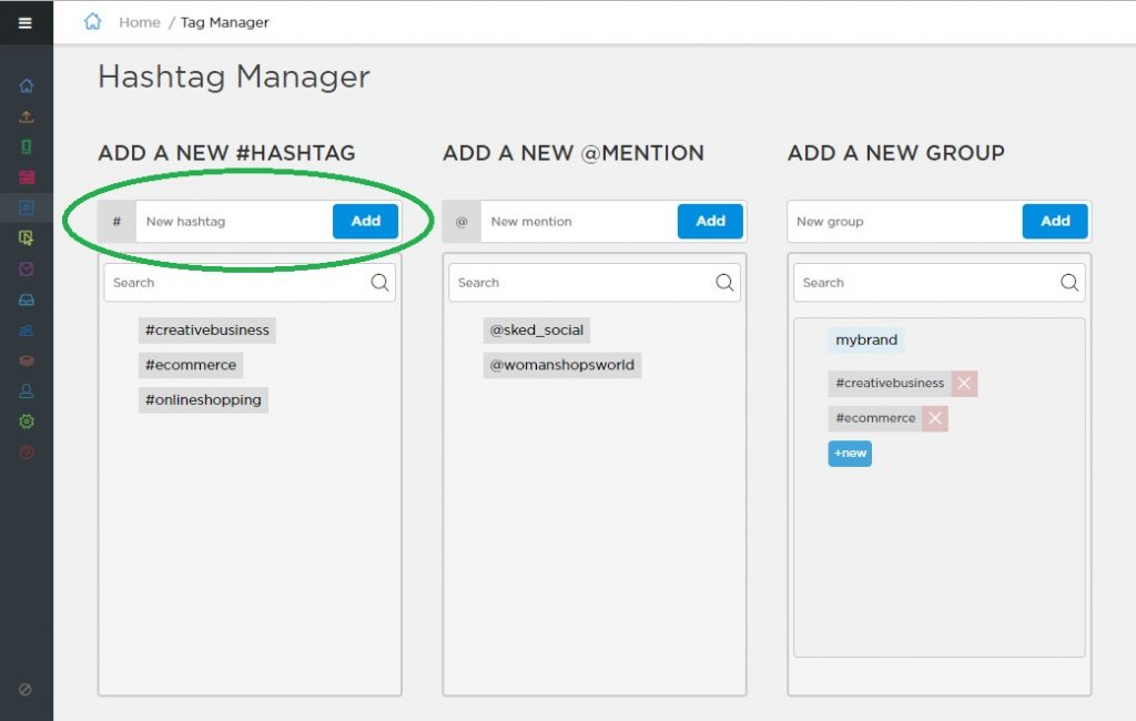 Instagram Analytics Tool Using Schedugrams Hashtag Manager