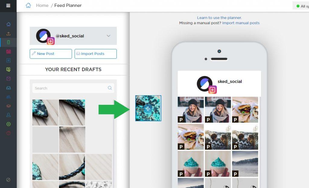 Perform Instagram audit using schedugram