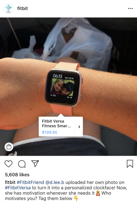 How to Sell on Instagram - FitBit - Sked Social