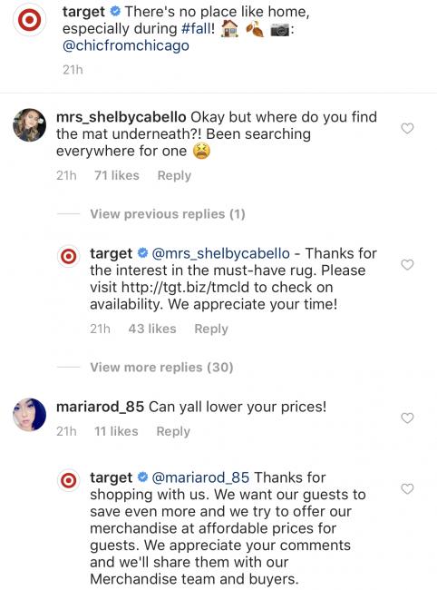 instagram-best-practices-target-example