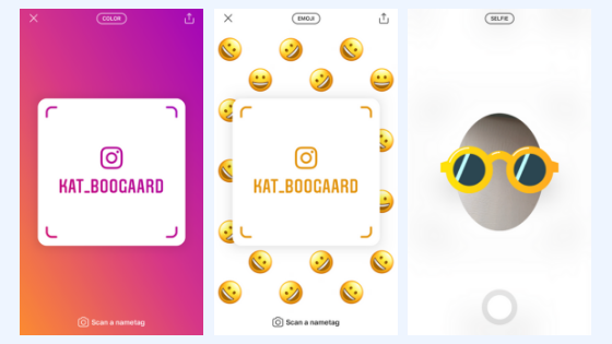 Instagram Nametag For Businesses and Brands - Schedugram
