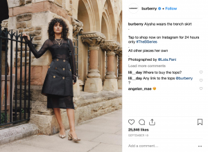 Burberry Social Media Strategy