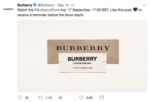 burberry pricing strategy