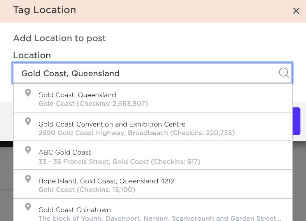 Instagram Tagging - Tag Location - Sked Social