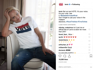 The 8 Best Campaigns of Social Media 2018 - Levi's - Sked Social