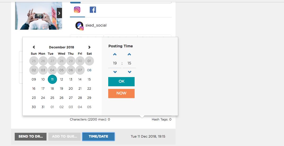 Instagram carousel post - Sked Social