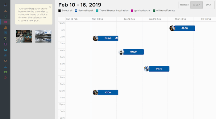 Twitter Scheduling Sked Social