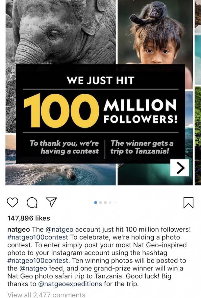 Nat Geo Contest - Social Media News - Sked Social