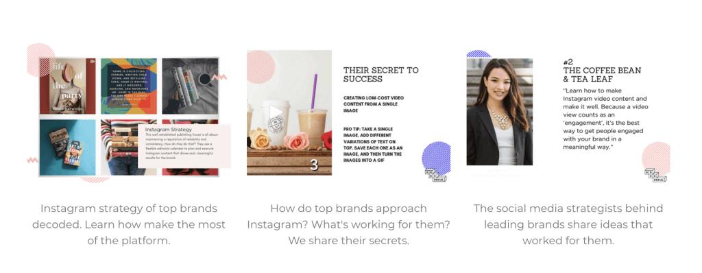 Instagram Expert Series - Top Brand Strategy - Sked Social