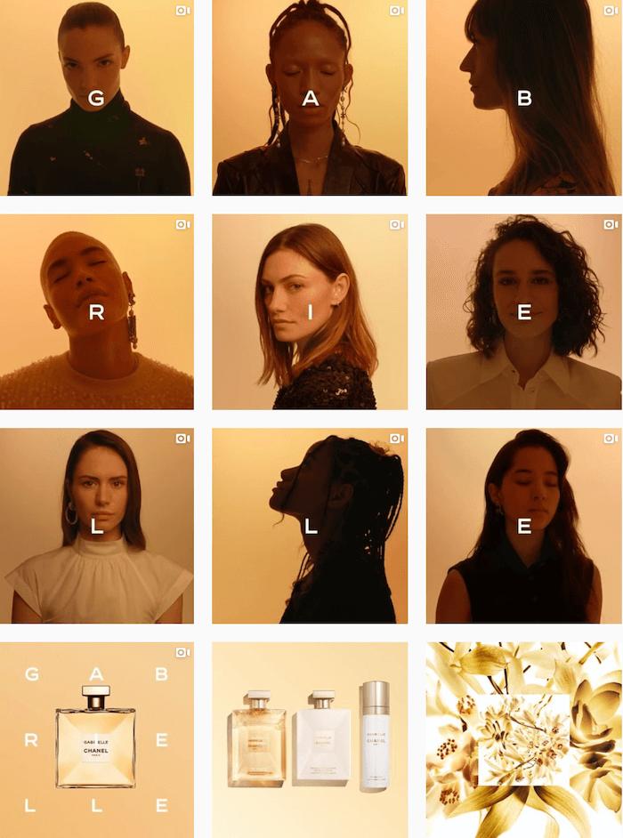 Fashion brands on Instagram - Chanel - Sked Social