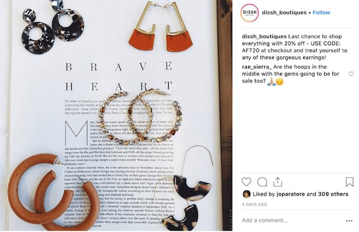 Fashion Brands on Instagram - Dissh - Sked Social