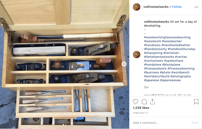 Daily Instagram Hashtags - Hand Tool Thursday - Sked Social