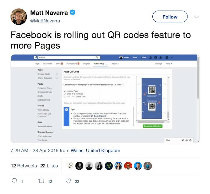 Shoppable Influencer Posts - Facebook QR Codes - Sked Social