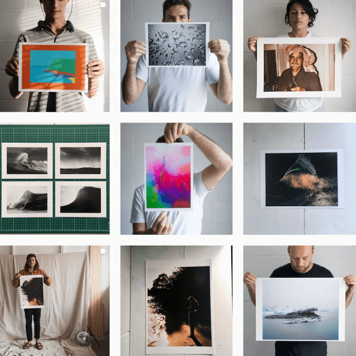 Instagram Themes - Smalltown Artlab - Sked Social