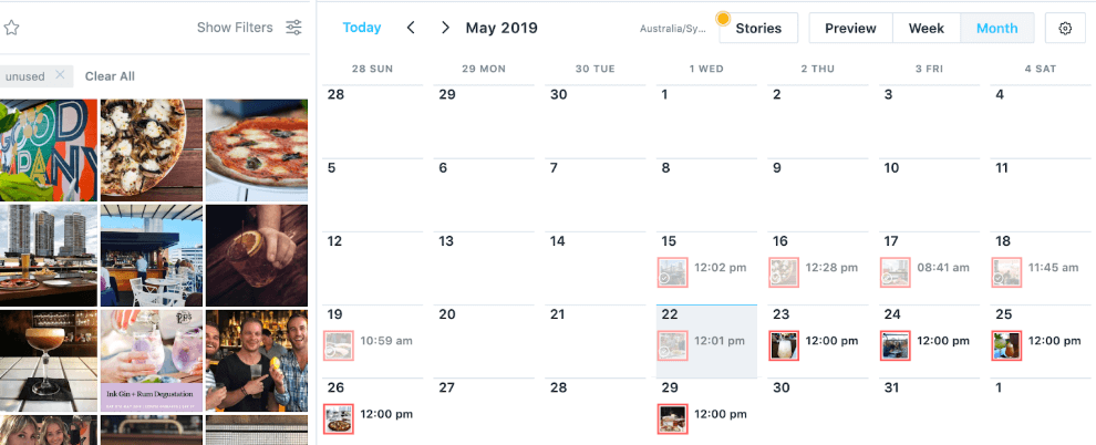 Top social media scheduling tool - Later - Sked Social