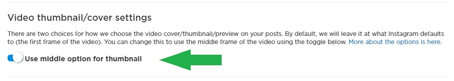 New feature: Thumbnail options for Instagram videos with Schedugram ...