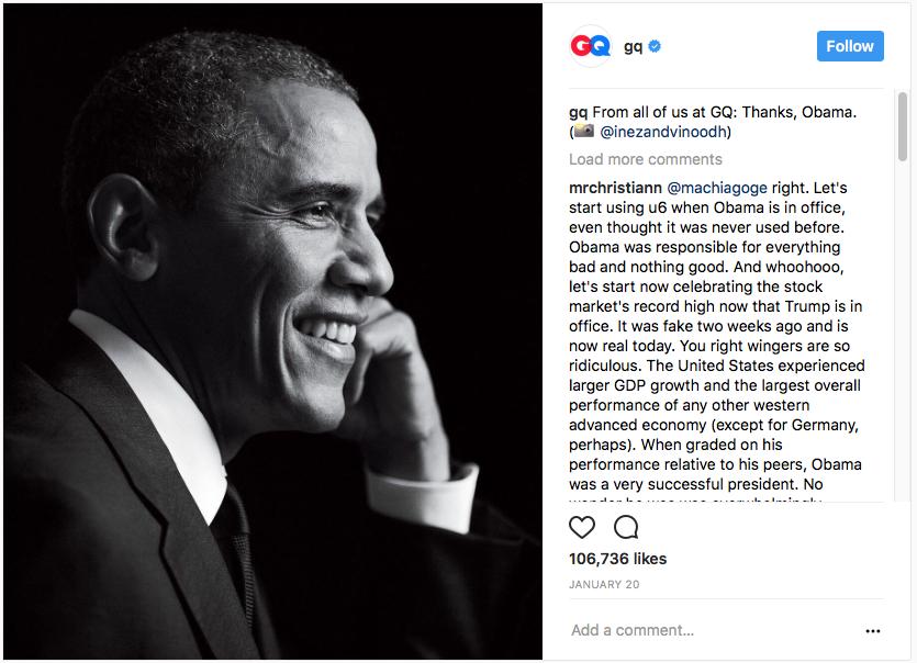 obama instagram best practices