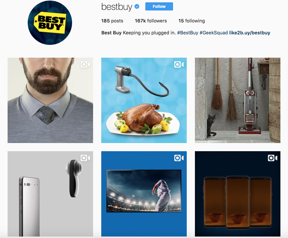 Instagram Brand - Best Buy - Sked Social