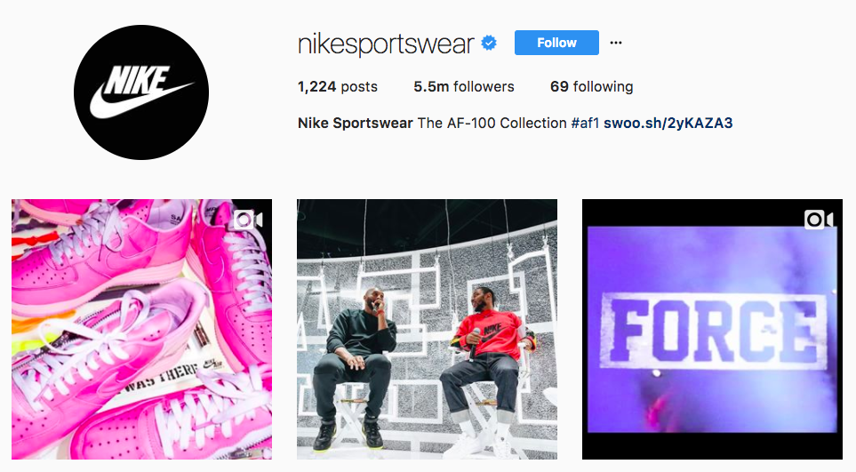 Nike is an Instagram leader learn how to engage your instagram followers