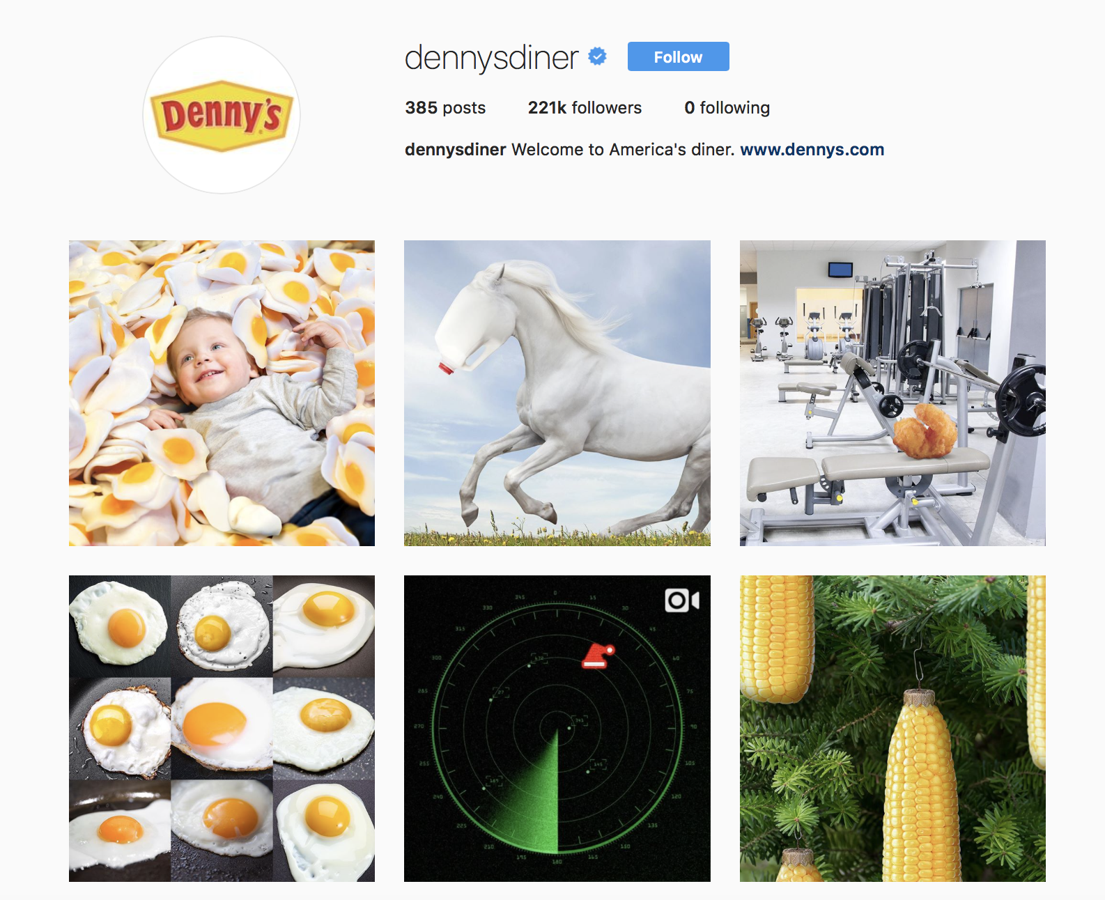 denny-diner-best-brands-on-instagram
