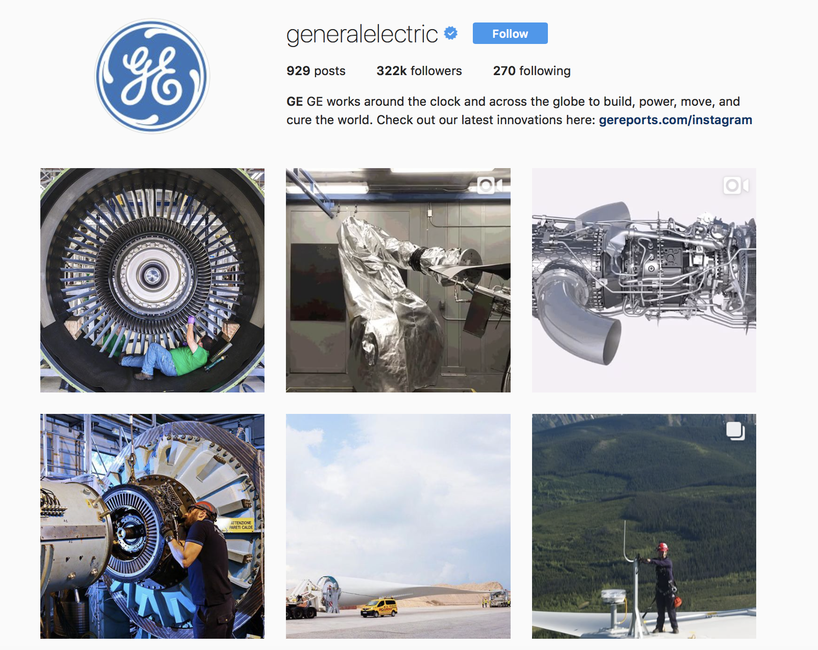 general-electric-best-brands-on-instagram