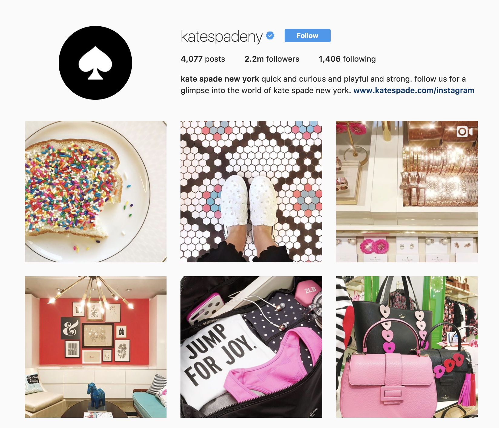 kate-spade-best-brands-on-instagram