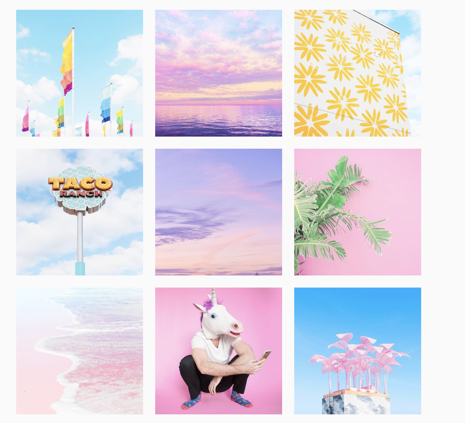 Instagram Feed Ideas: Pastels - Schedugram