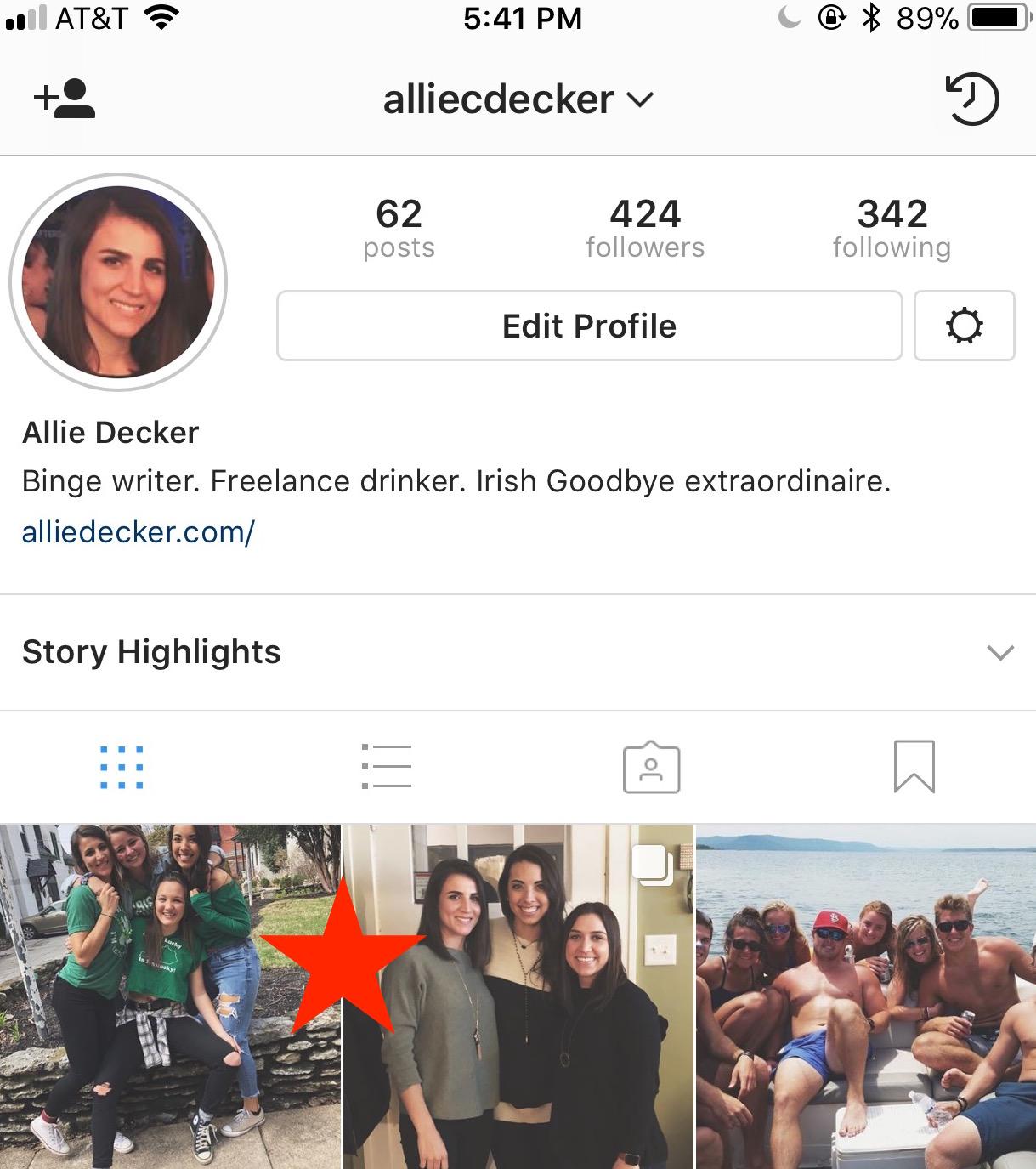 instagram archive
