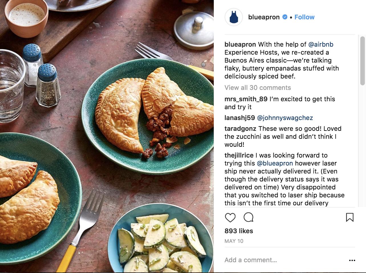 blue-apron-instagram-marketing-strategy