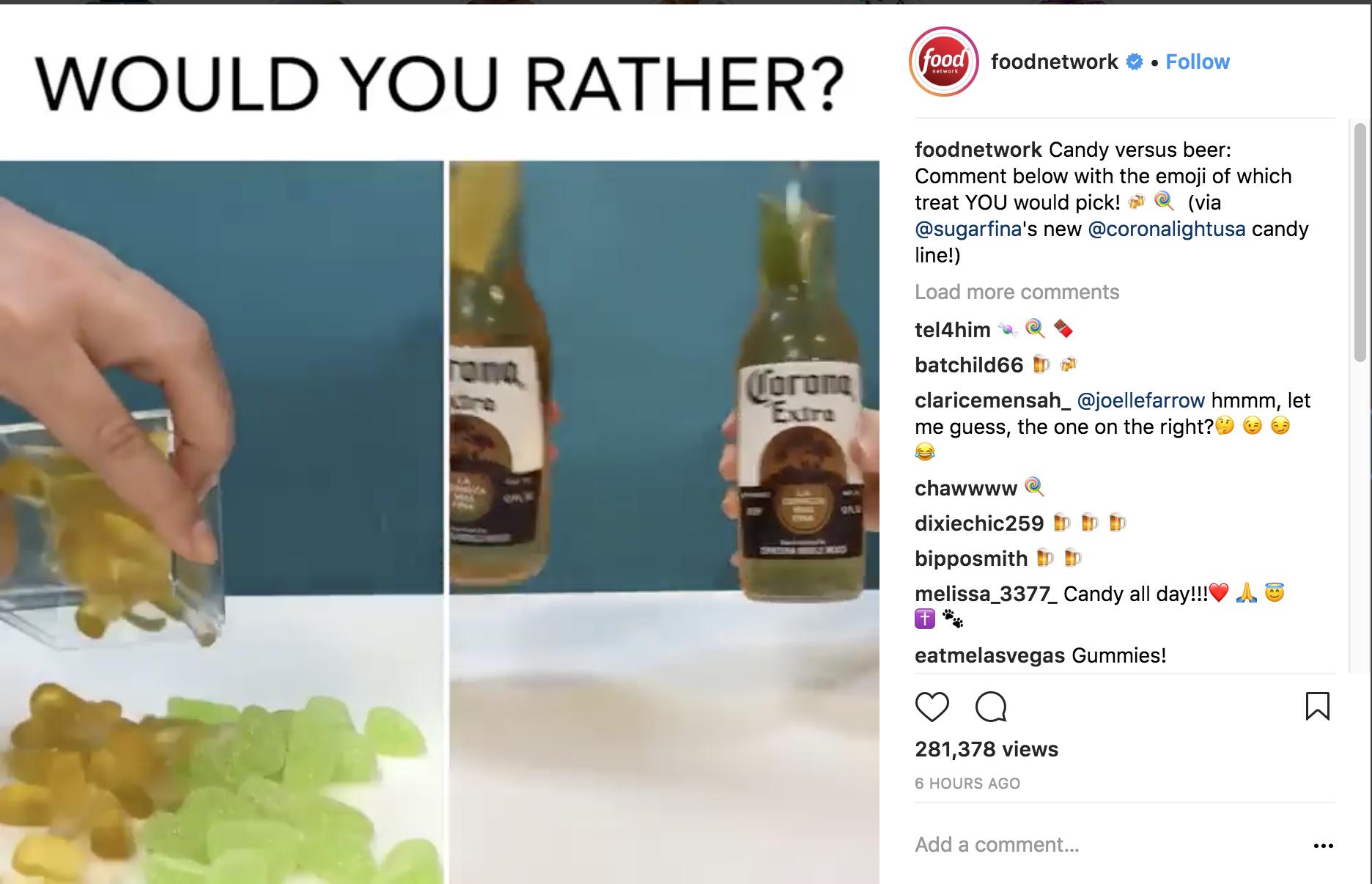 food-network-instagram-marketing-strategy