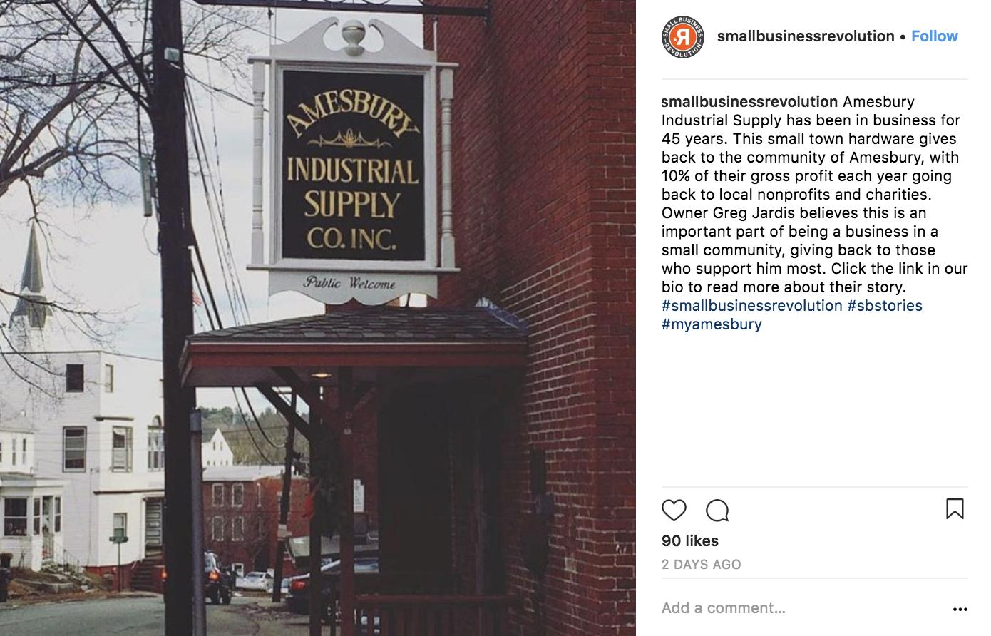 small-business-revolution-instagram-marketing-strategy