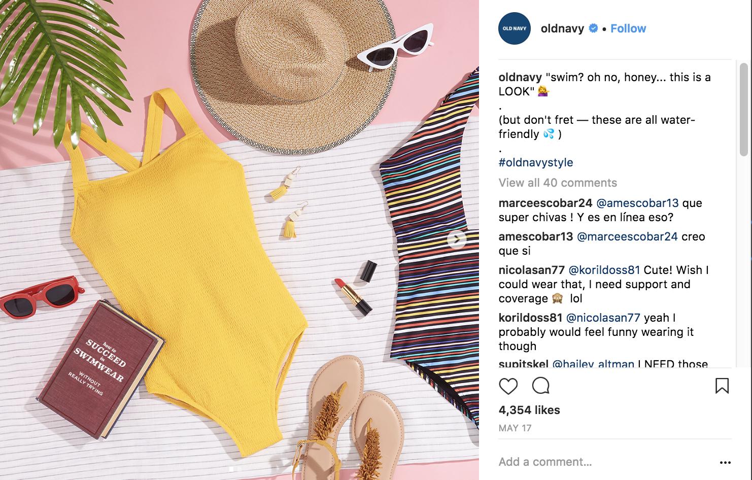 old-navy-instagram-marketing-strategy
